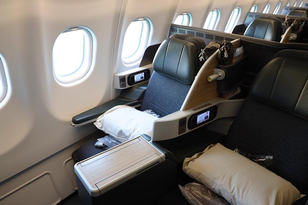 エバー航空ビジネスクラス
