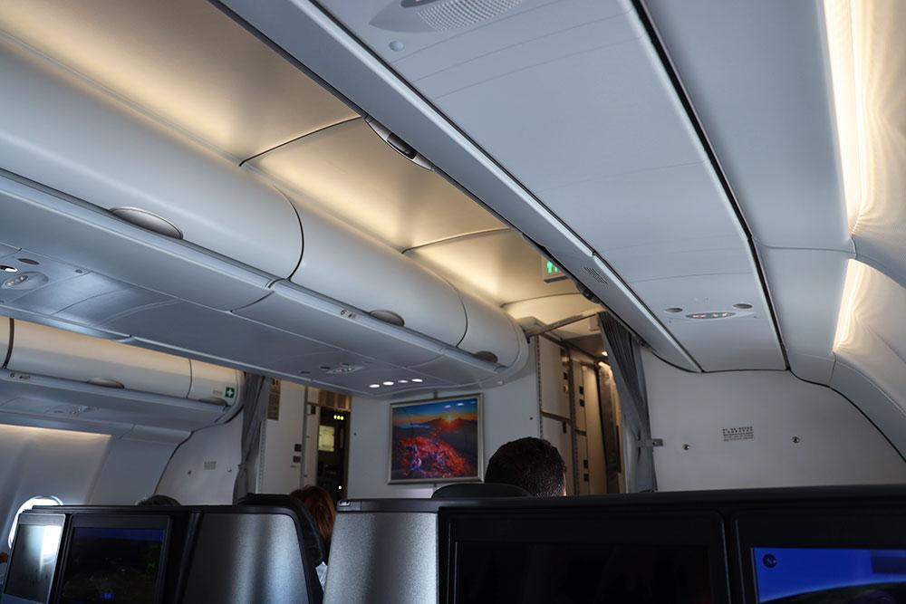 エバー航空ビジネスクラス まったり時間