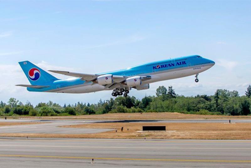 大韓航空 B748i