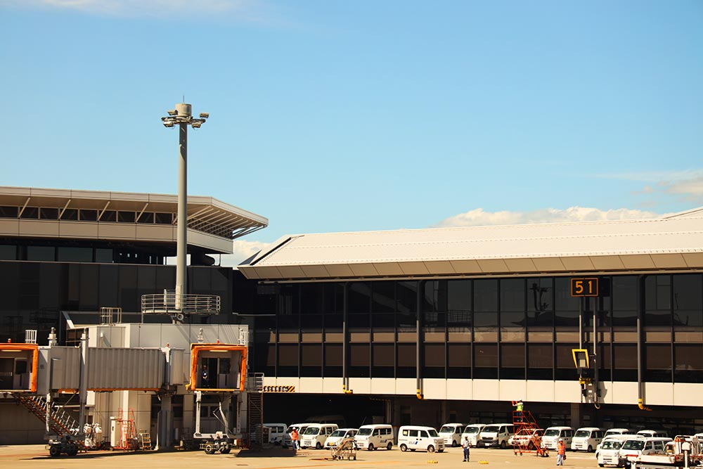 成田空港51番ゲート