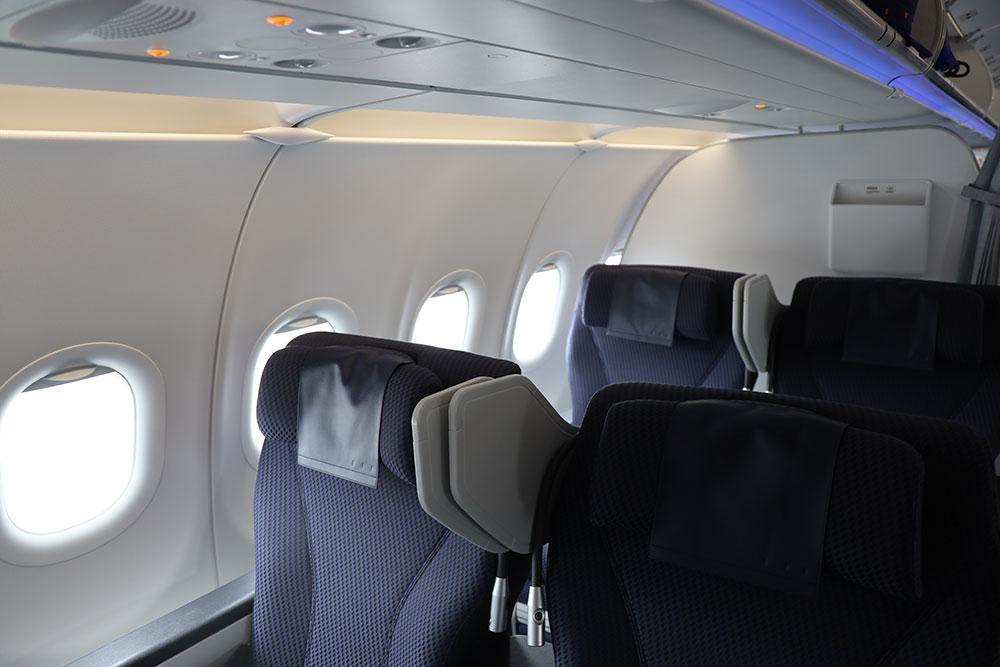 ANA A321neoプレミアムクラスシート