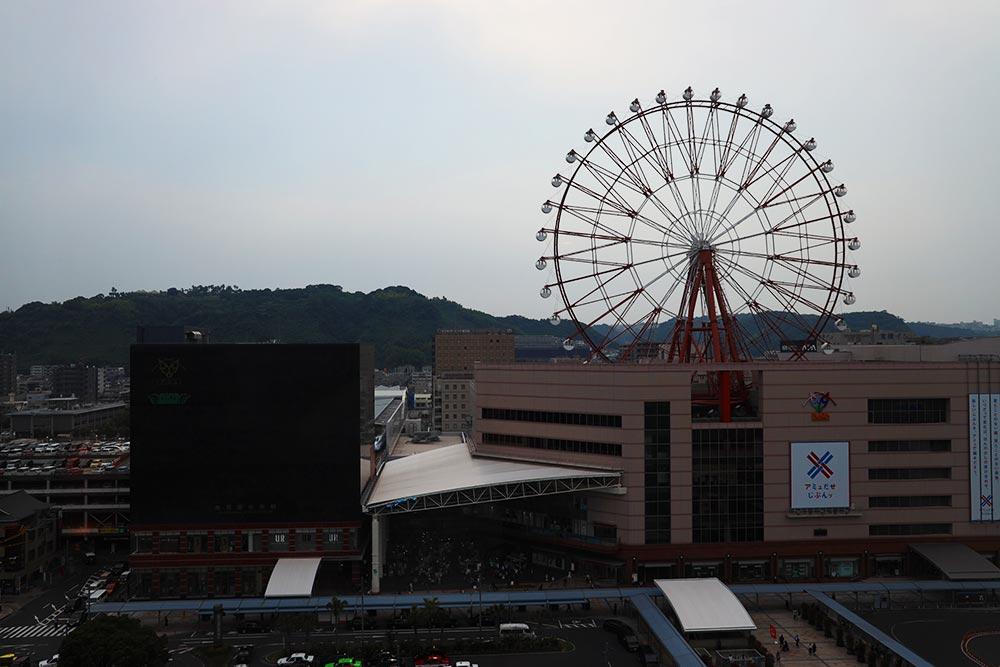 ソラリア西鉄ホテル 鹿児島 窓からの景色