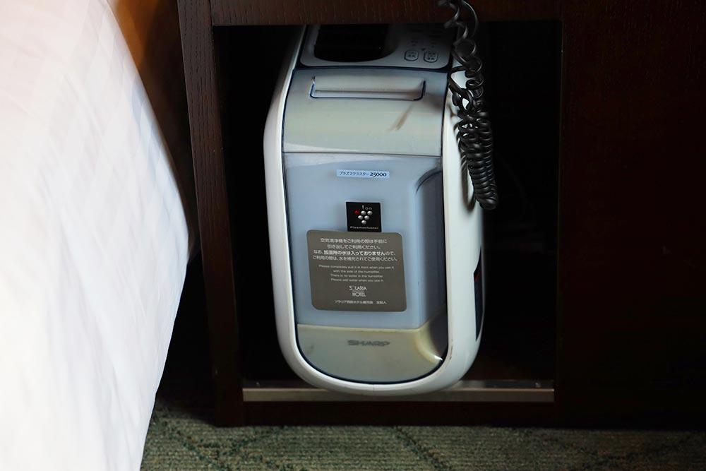ソラリア西鉄ホテル 鹿児島 空気清浄機