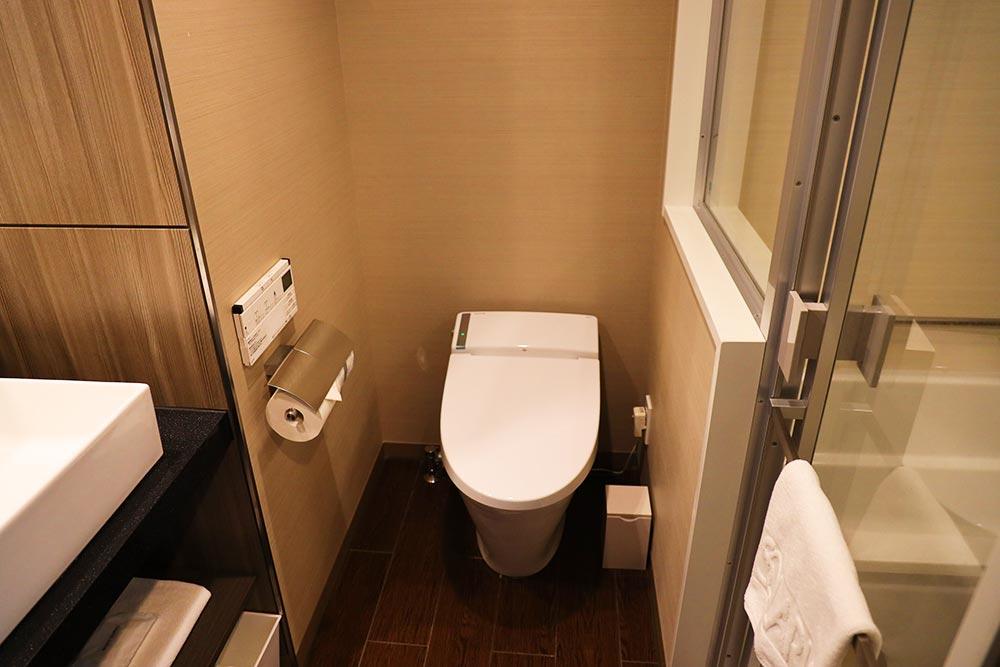 ソラリア西鉄ホテル 鹿児島 トイレ