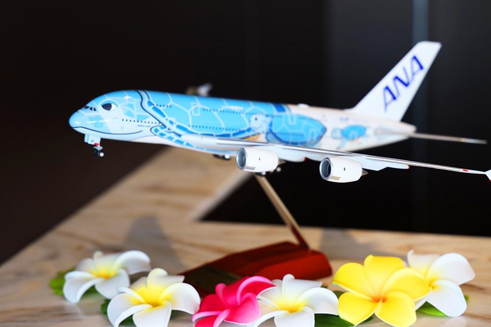 ANAスイートラウンジ福岡 A380ミニチュア