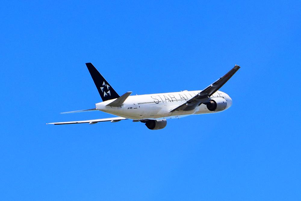 ANAスイートラウンジ福岡 離陸スターアライアンス機