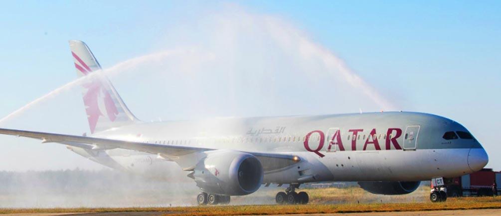 カタール航空ビジネスクラス機材