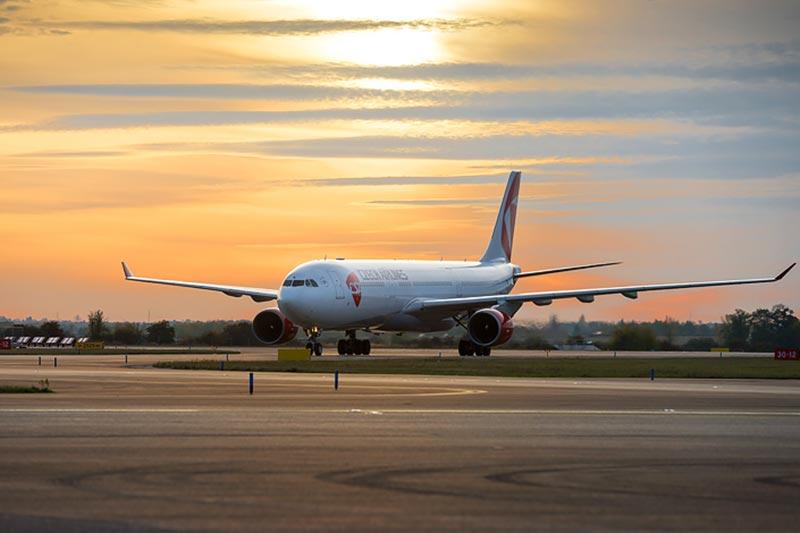 チェコ航空A330