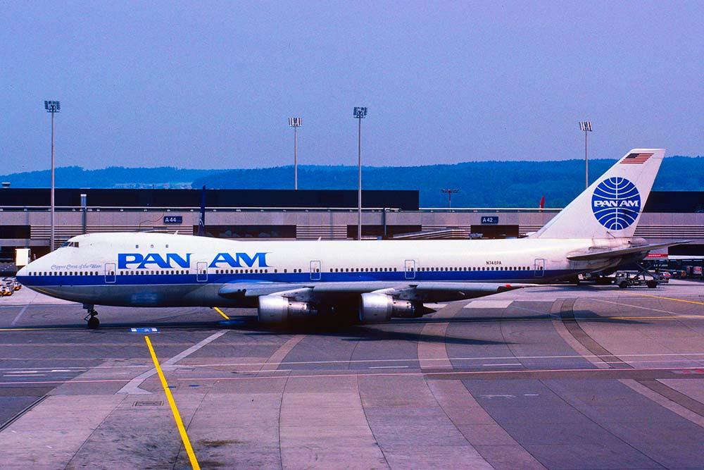 Pan am B747