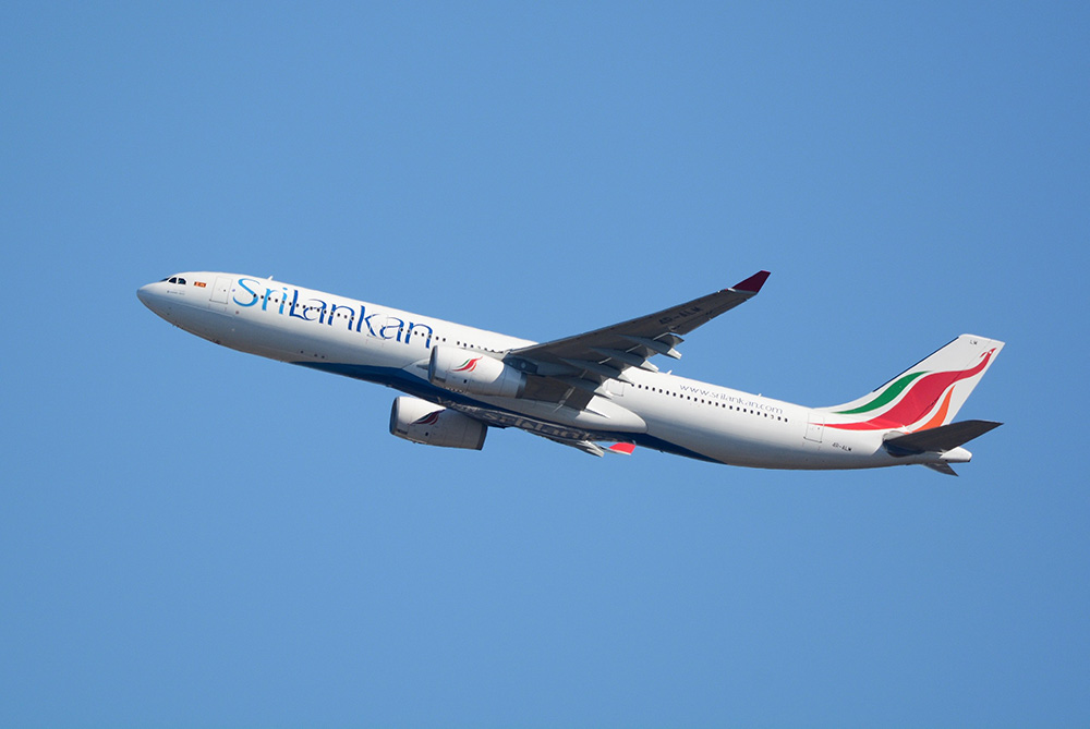スリランカ航空A330