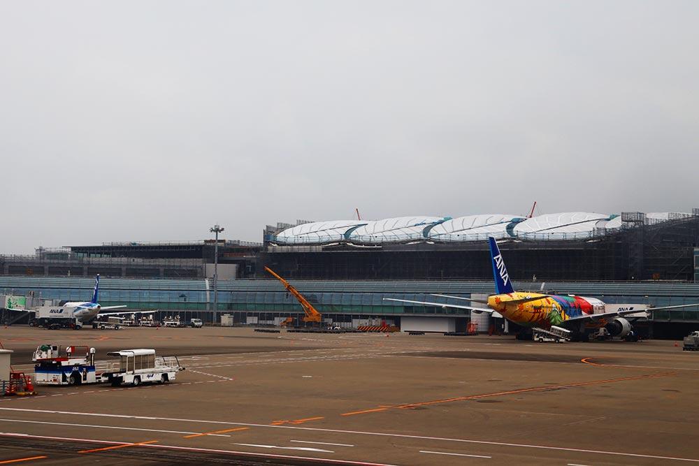 増築中のターミナル2