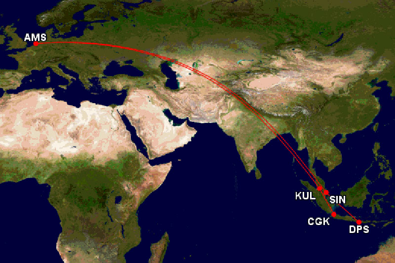 KLMアジア路線