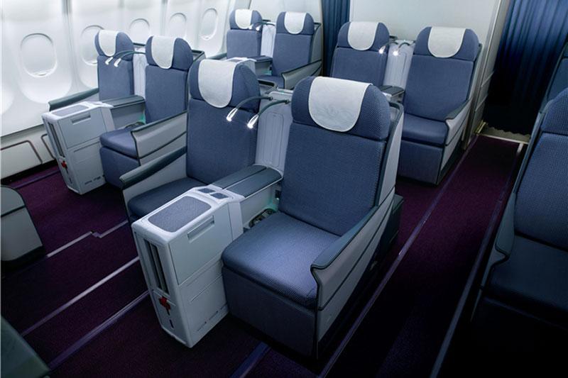 中国南方航空ビジネスクラス