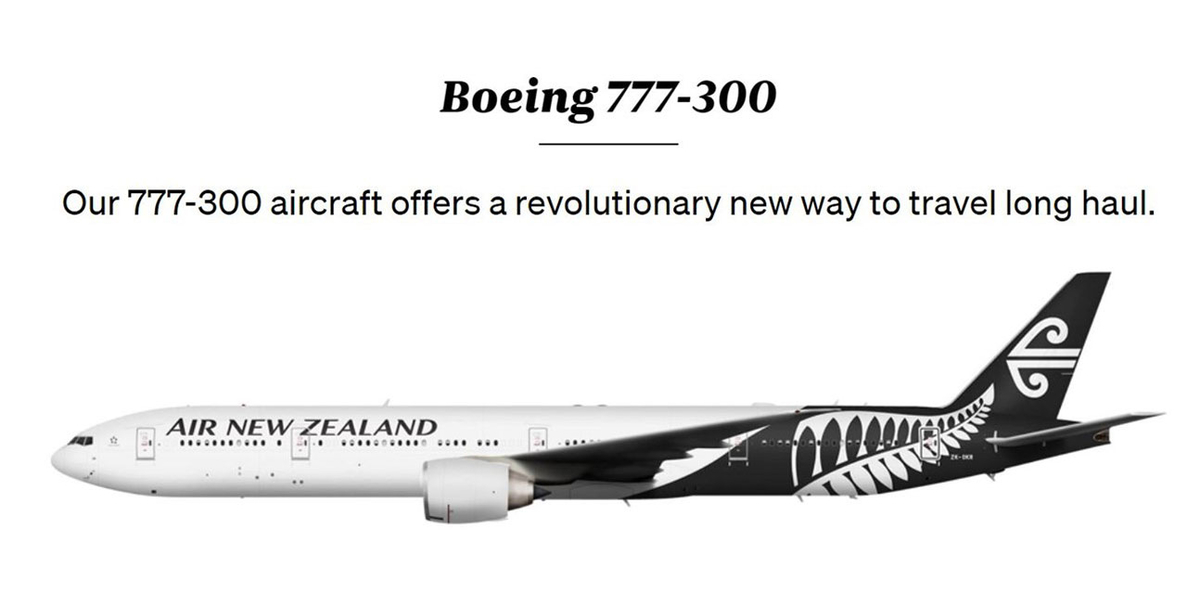 NZ B77W