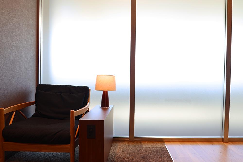 ラウンジ窓