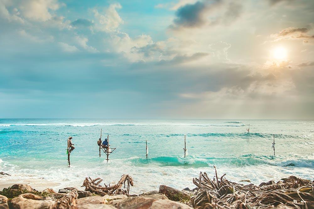 スリランカビーチ