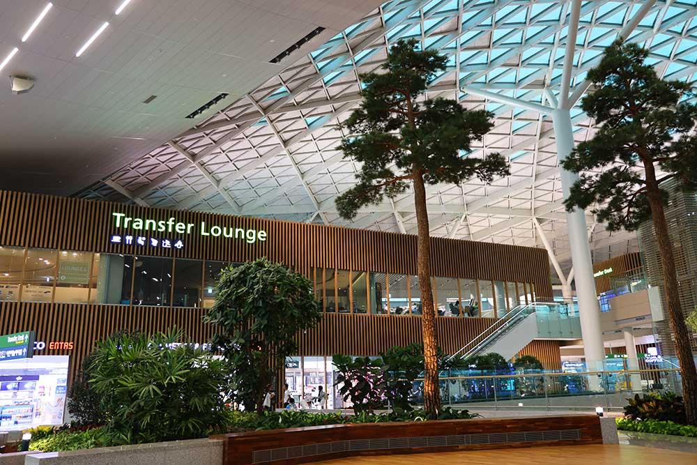 仁川空港ターミナル2トランスファーラウンジ