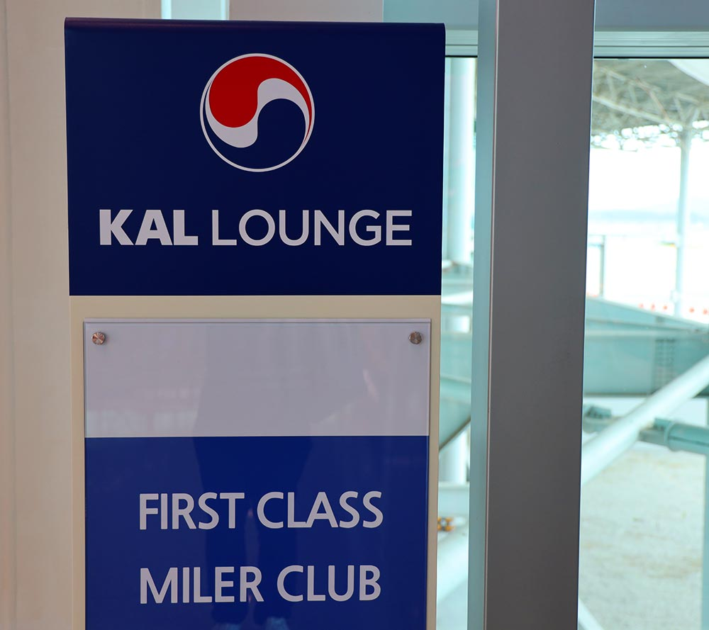 KAL Lounge miler club