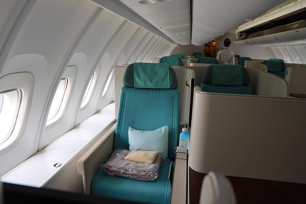 大韓航空ビジネスクラスシート