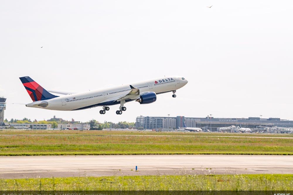 デルタ A350