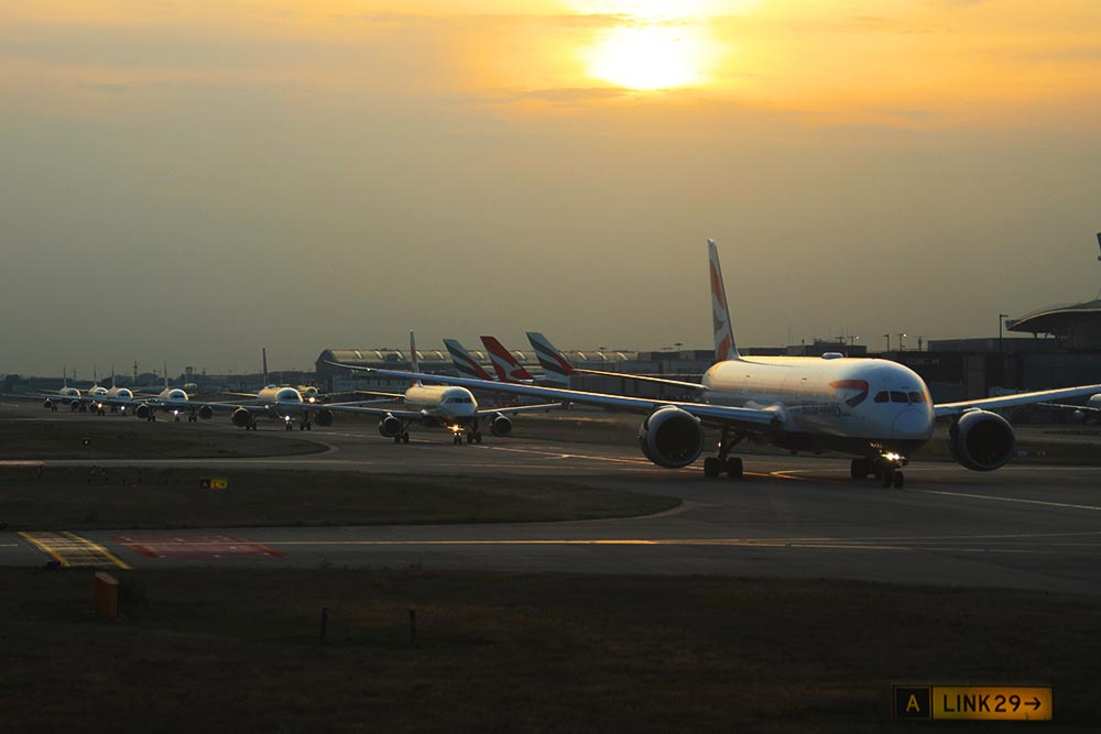 ヒースロー空港混雑