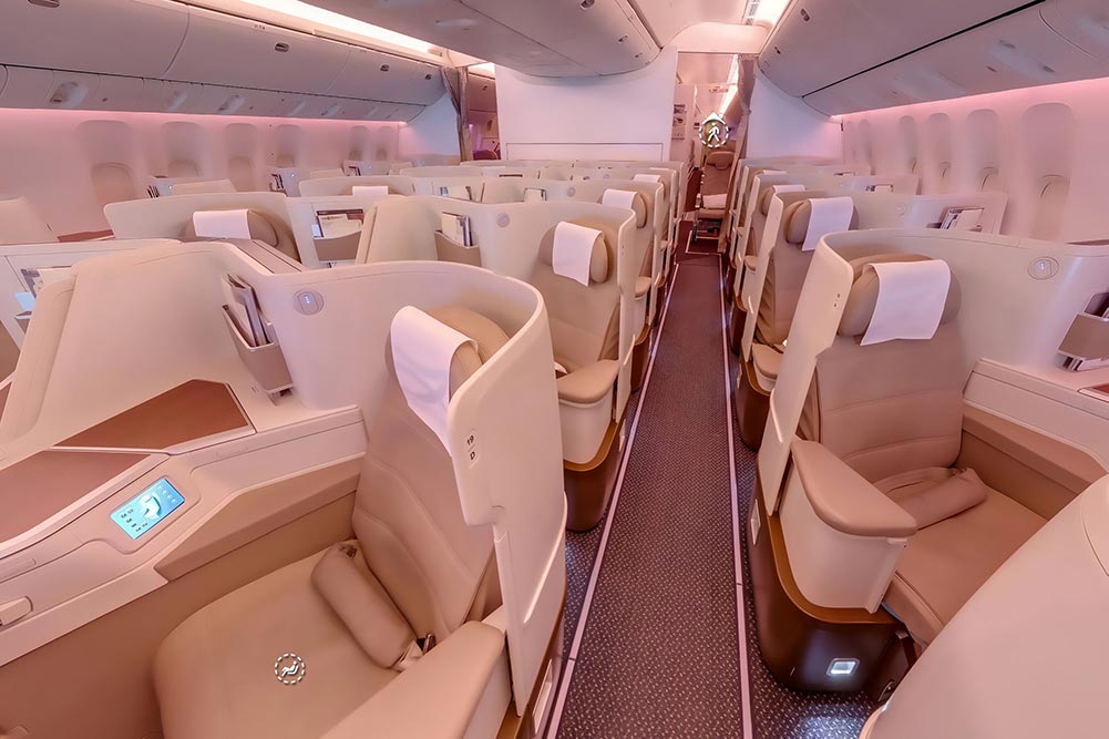 サウジアラビア航空ビジネスクラス