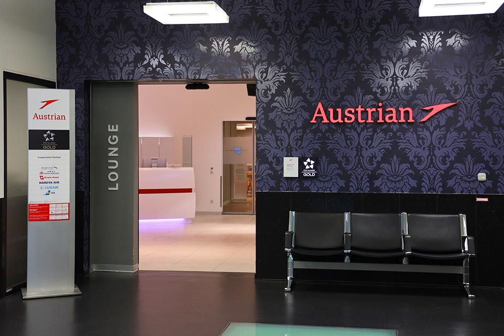 オーストリア航空ラウンジ
