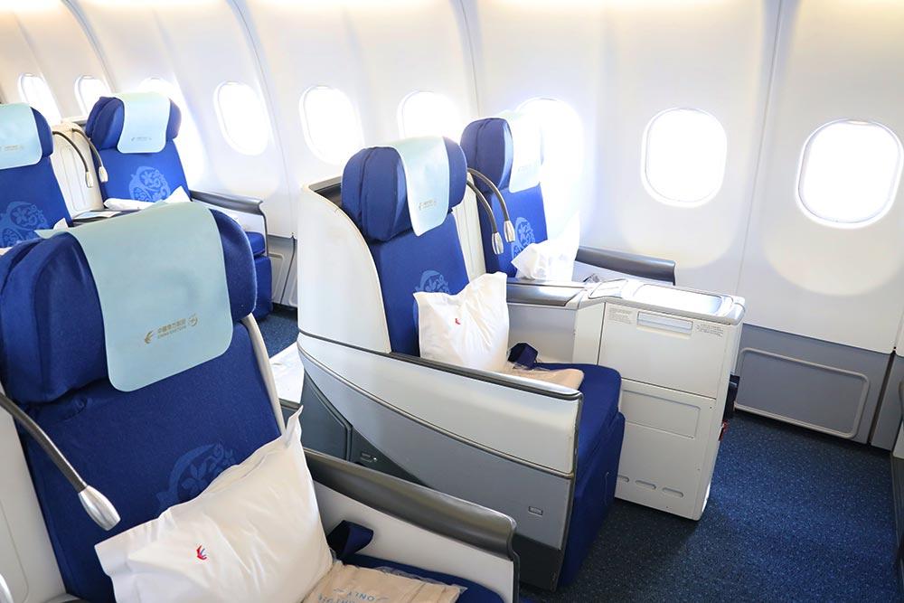中国東方航空ビジネスクラス