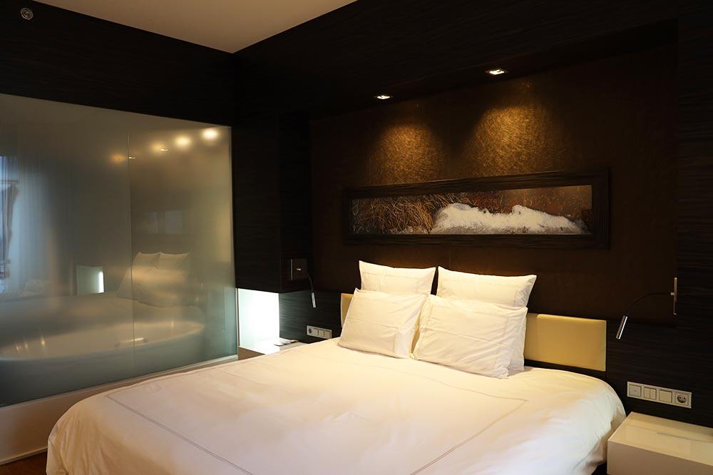スイスホテル タリン ベッド