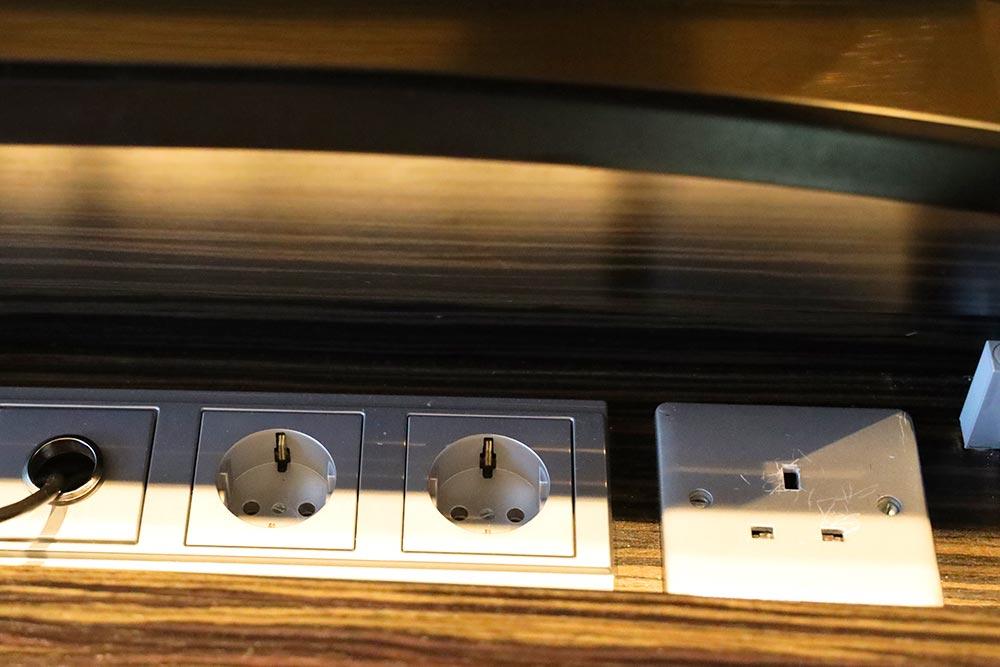 スイスホテル タリン 電源