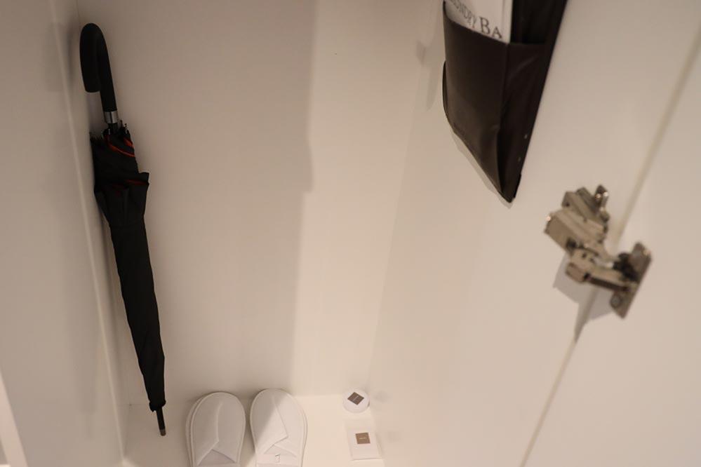スイスホテルタリン 傘