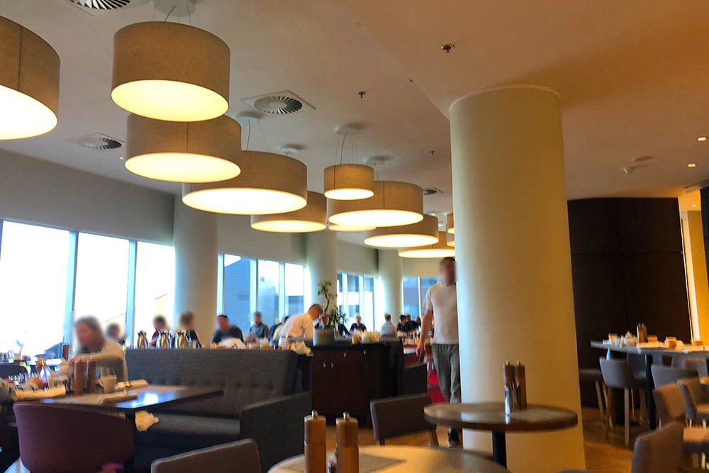 スイスホテル朝食