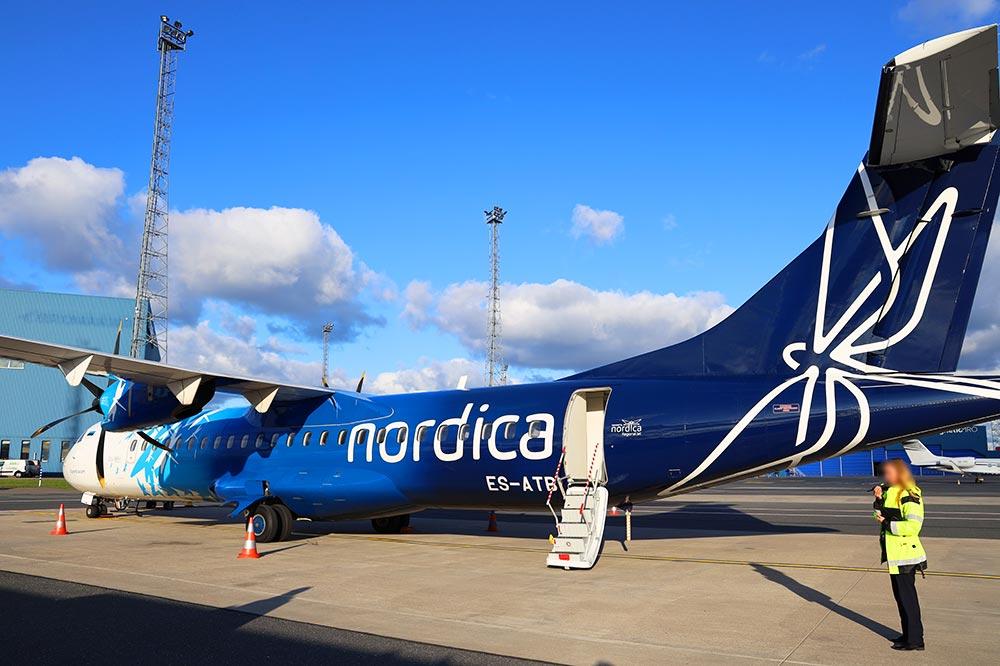 搭乗ATR72-600