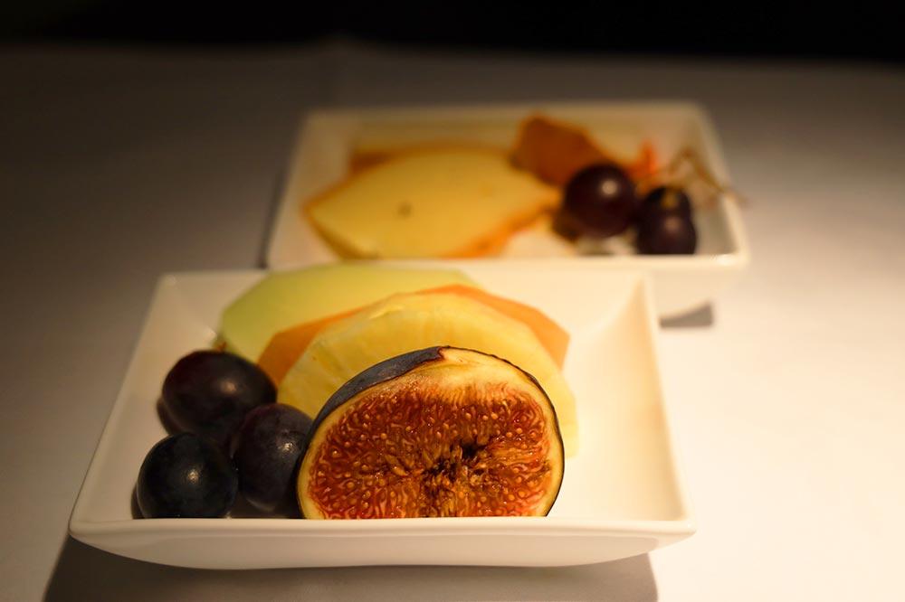 機内食フルーツ