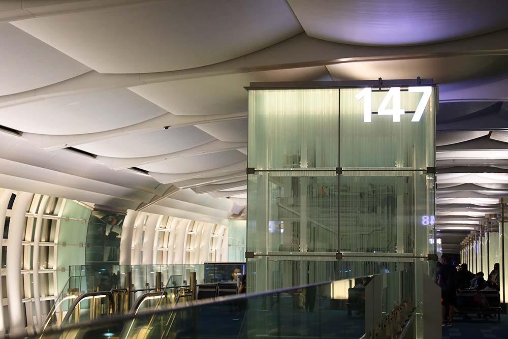 羽田空港147番ゲート