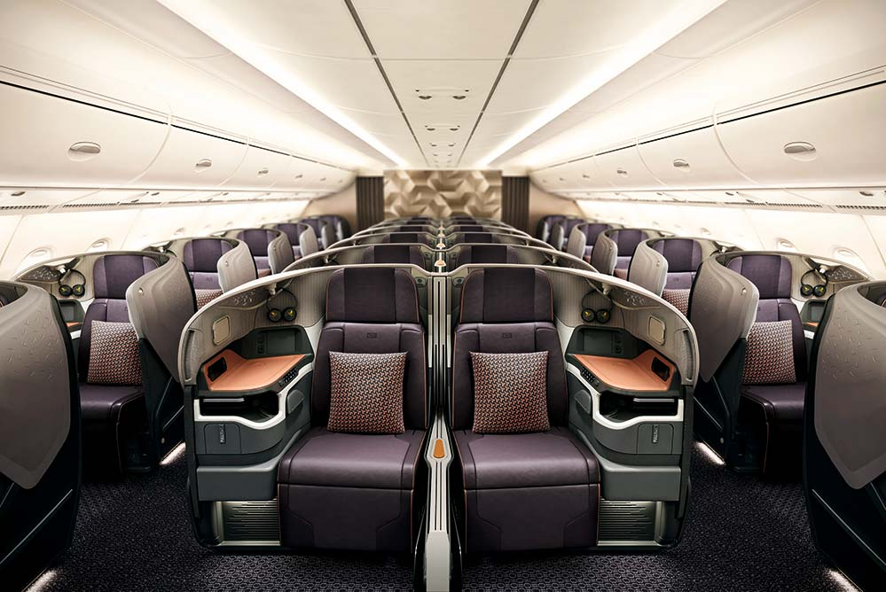 A380R business seat