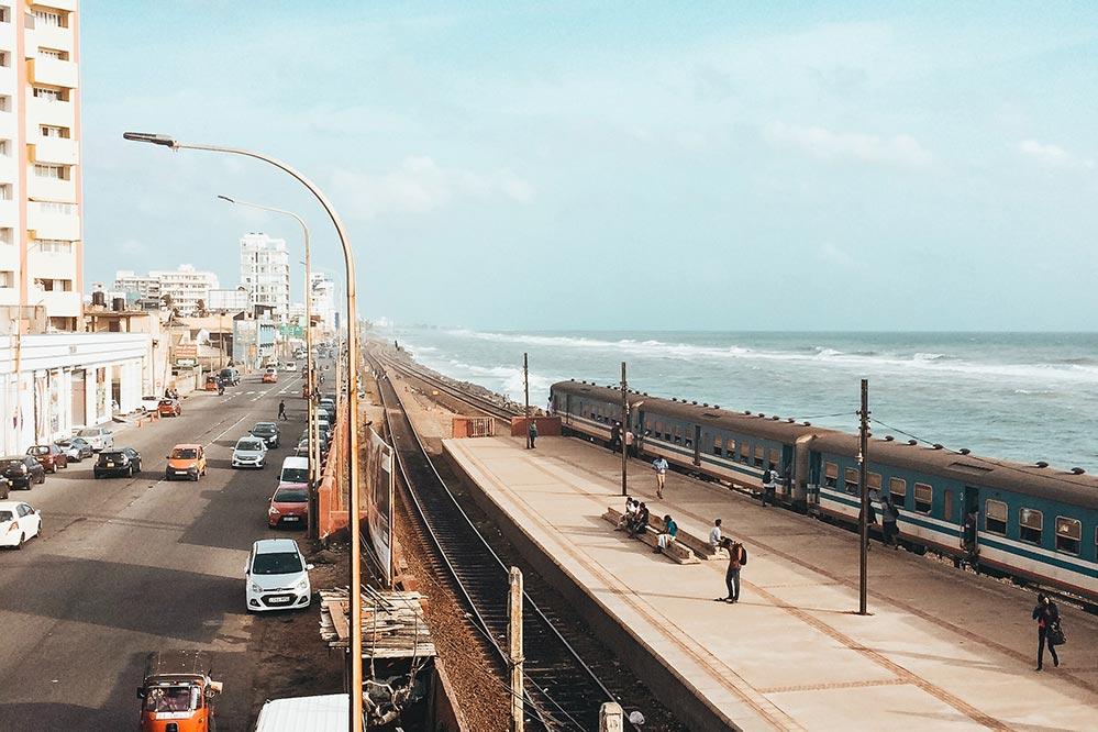 コロンボ海岸