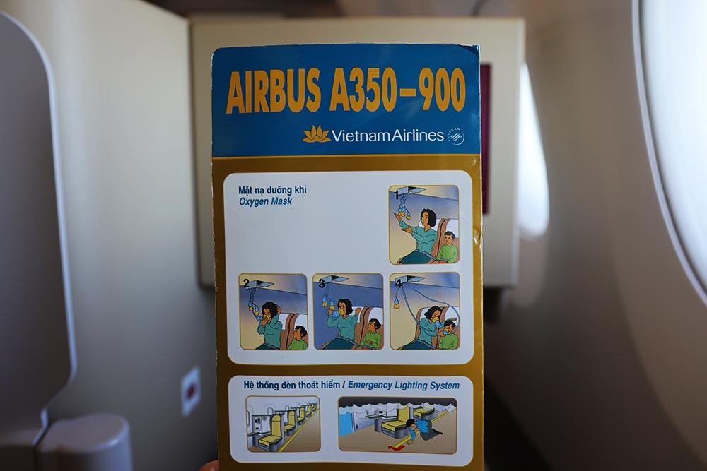 A350セーフティボード