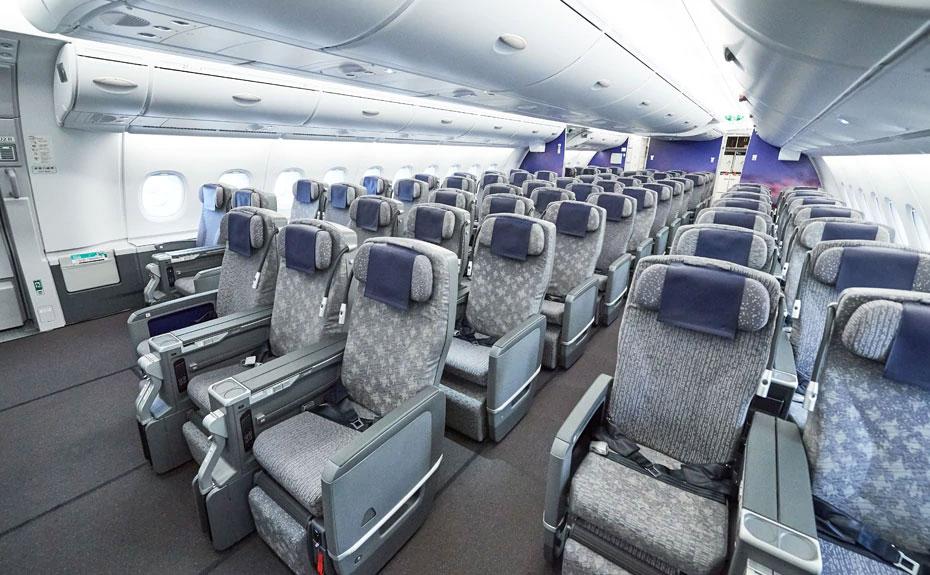 ANA A380プレミアムエコノミー