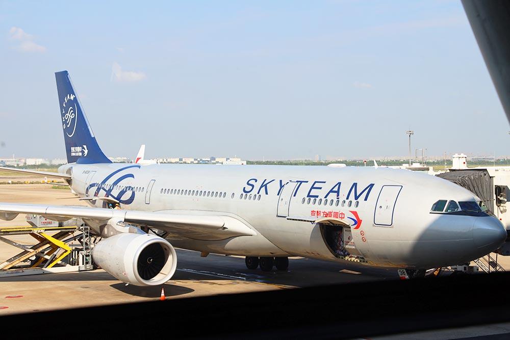 東航 A330スカイチーム塗装機
