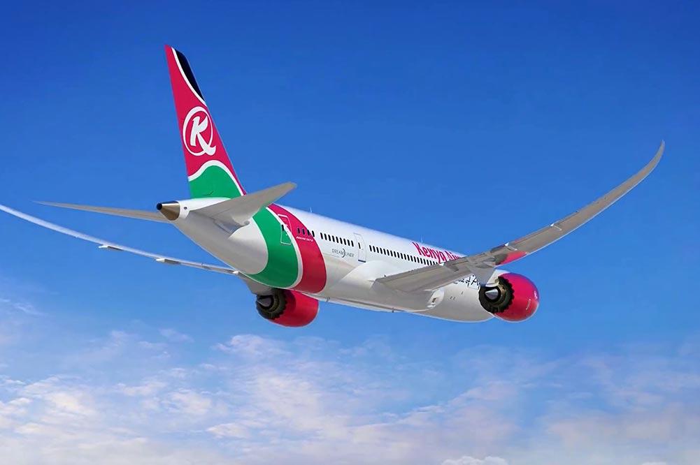ケニア航空787