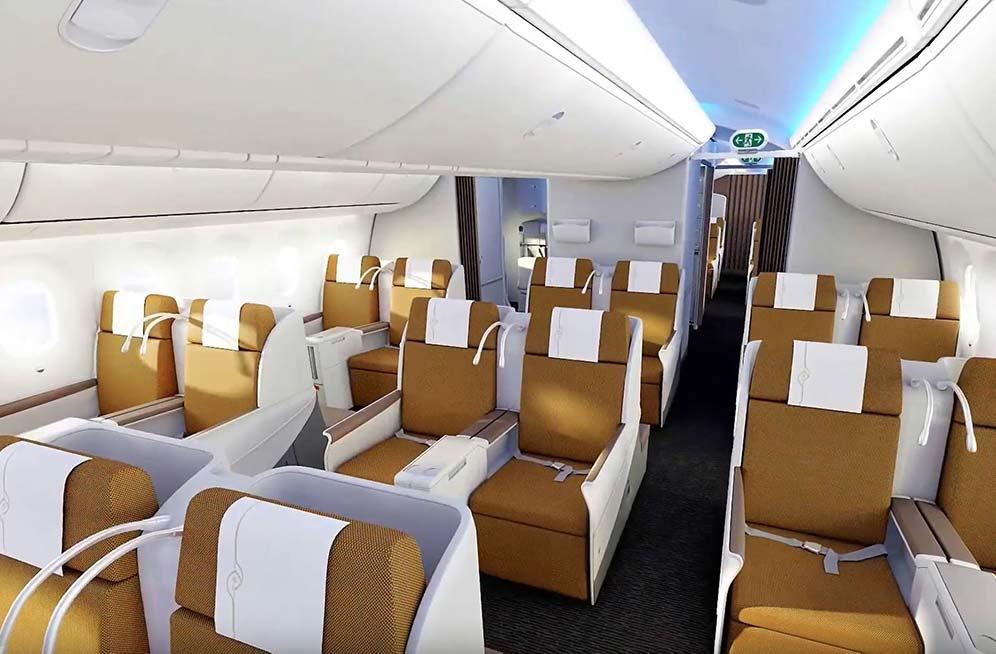 ケニア航空ビジネスクラス
