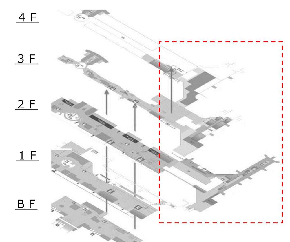 T2フロア拡張図面