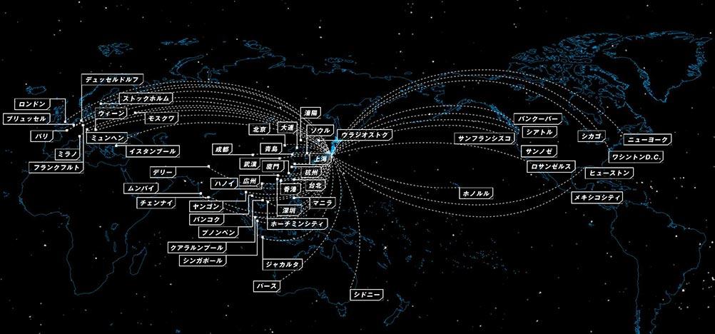 ANA国際線ネットワーク