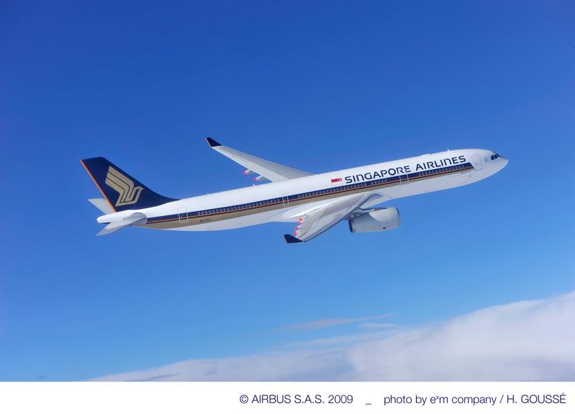 シンガポール航空A330