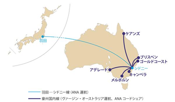 ANA提携路線