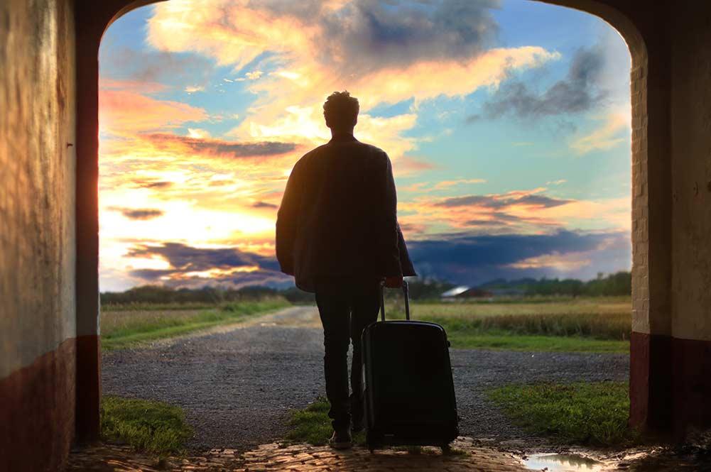 海外旅行に出かける