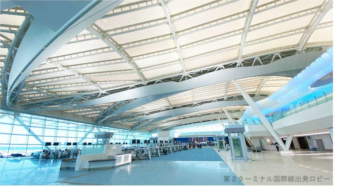羽田空港第二ターミナル国際線ロビー