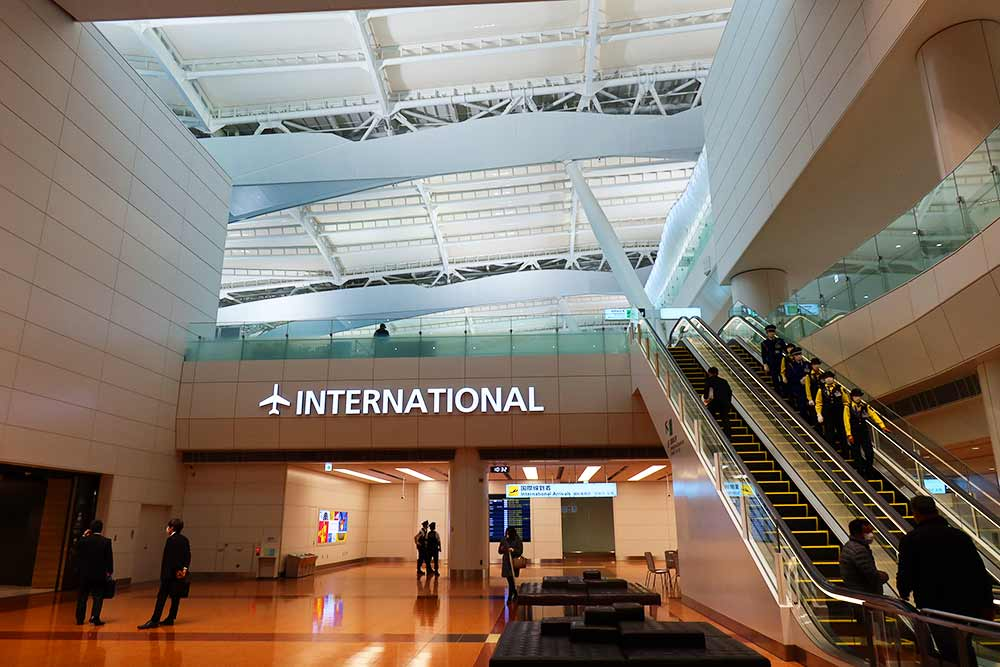 ANA国際線ターミナル2