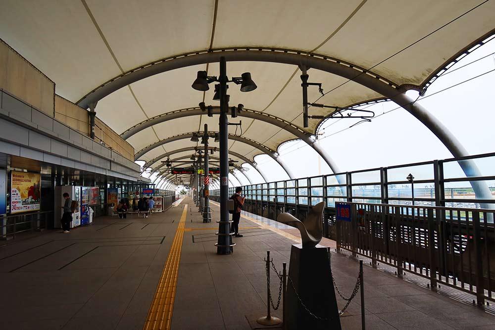 仙台空港プラットフォーム